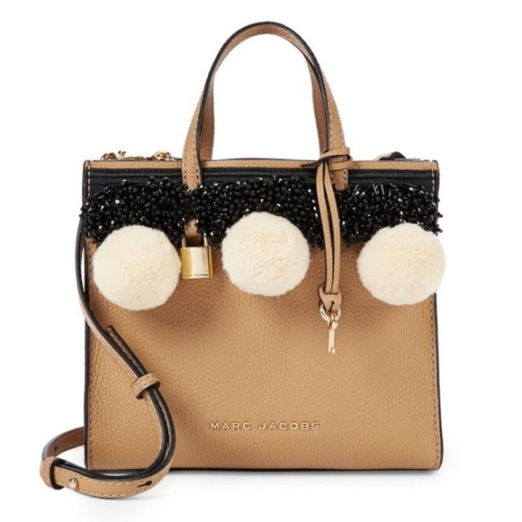 31211456e5 Marc Jacobs Bags | Beads And Pom Poms Mini Grind Bag | Poshmark